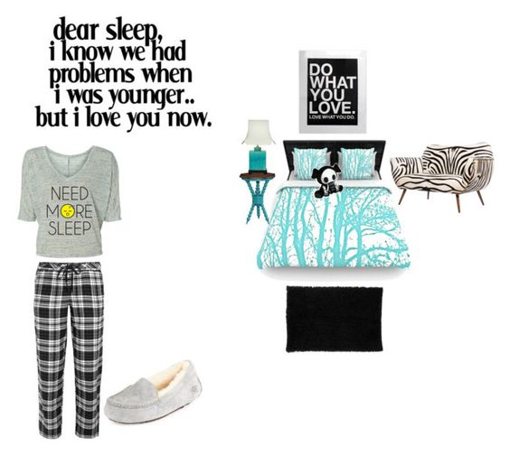 """I'm sick so sleep would be nice right now"" by glittergirlb ❤ liked on Polyvore featuring interior, interiors, interior design, home, home decor, interior decorating, nuLOOM, Emporium Home, EMILY THE STRANGE and DKNY"
