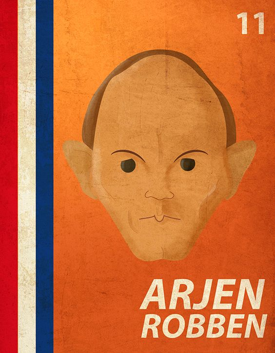 World Cup Players ´14 Robben