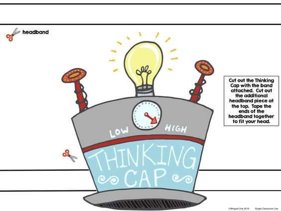 how to make a thinking cap