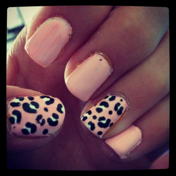 Light pink cheetah