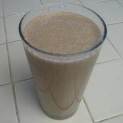 Low-Carb Chocolate Peanut Butter Smoothie Recipe - Allrecipes.com