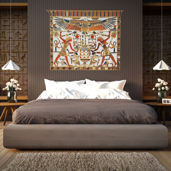 Decoracion Egipcia Hogar ~ Usar alfombras son imprescindibles en la decoraci?n egipcia
