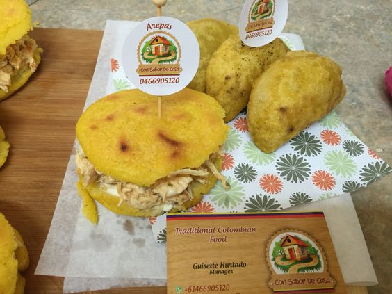 Delicias de la comida colombiana #ConSabordeCasaSydney