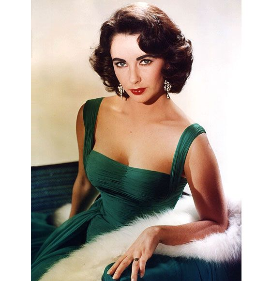 Emerald - Pantone 2013 Color of the Year - evoking the spirit of the young and radiant Elizabeth Taylor