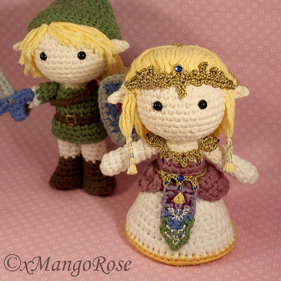 Crochet Zelda Patterns : ... princess zelda patterns dolls crochet patterns amigurumi crochet