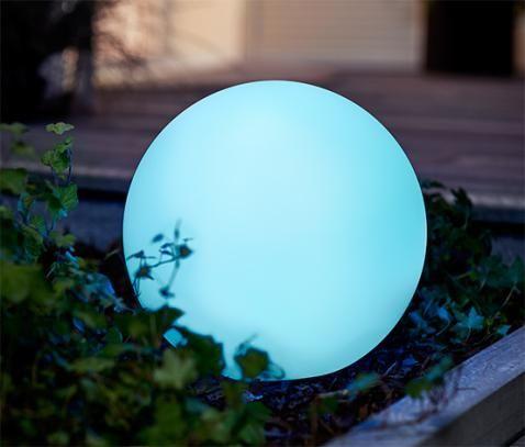 Solar Kugelleuchte Rund Mit Farbwechsel Online Bestellen Bei Tchibo 369609 Farbwechsel Solar Led