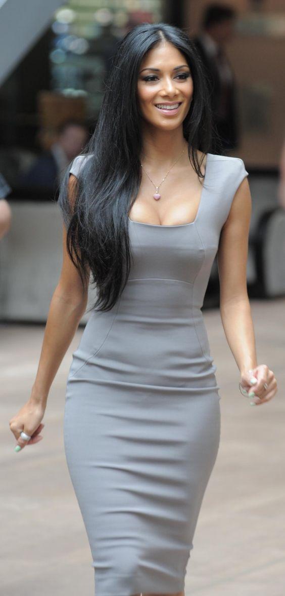 Cuz I wanna be able to rock a tight dress like Nicole Scherzinger ;) #WomanCrush #Fitness #Inspiration