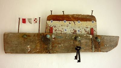 gan Kirsty Elson: Driftwood Houses, Elson Houses, Driftwood Key, Driftwood Seashore, Driftwood Cottages, Driftwood Kirstyelsondesigns, Seashore Cottages, Kirsty Elson Designs