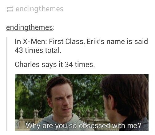 Be warned, tons of Cherik in the recommended pins. (Figured I'd warn those of you who aren't into it.)