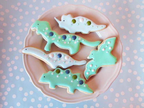 Dinosaurios azules