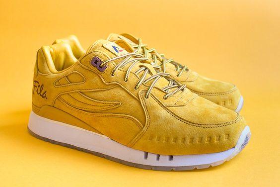 Sneakers femme - Fila x Alumni