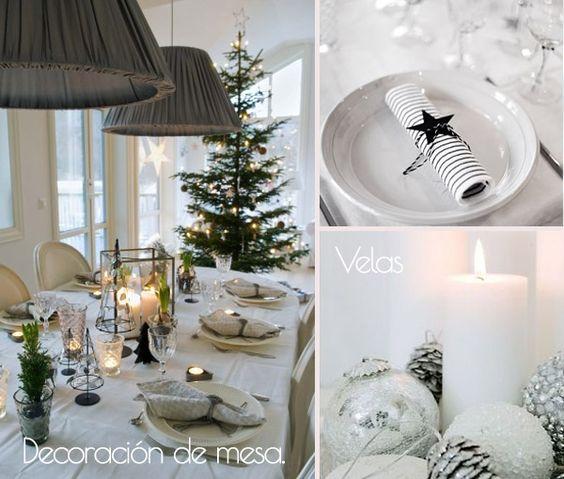 C mo decorar tu mesa de navidad para la cena de for Como decorar la mesa para navidad