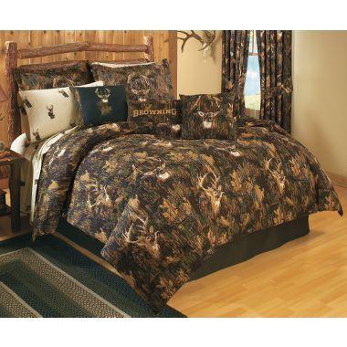 Browning Camo Comforter Set At Cabela 39 S Log Cabin Love