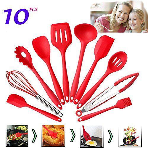 Silicone Spaghetti Fork Spoon Pasta Server Cooking Utensil Kitchen Gadget