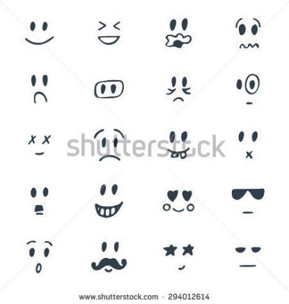 Drawing People Faces Cartoon Facial Expressions 41 Ideas Baby Face Drawing Cute Smiley Face Face Drawing