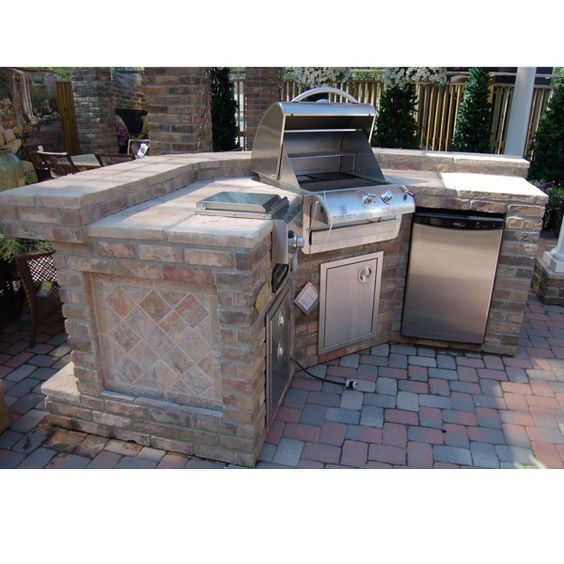 Barbecue And Outdoor Kitchens To Be Copied: Beautiful, Maybe Someday And