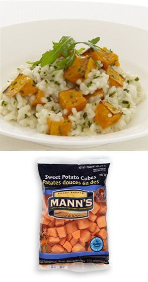 Roasted sweet potatoes, Risotto and Potatoes on Pinterest