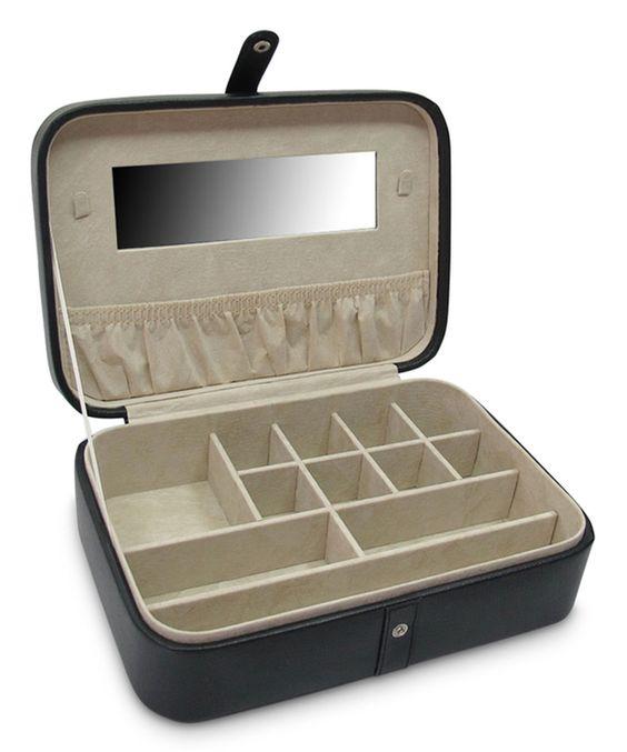 Black Kimberly Versatile Jewelry Box by Morelle & Co. #zulily #zulilyfinds