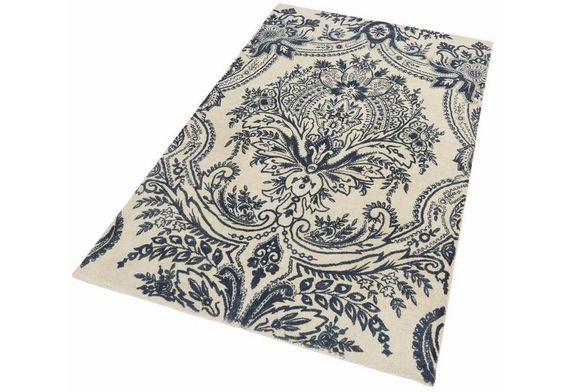 Teppich, Ecorepublic Home, »Alicia«, handgearbeitet, Schurwolle