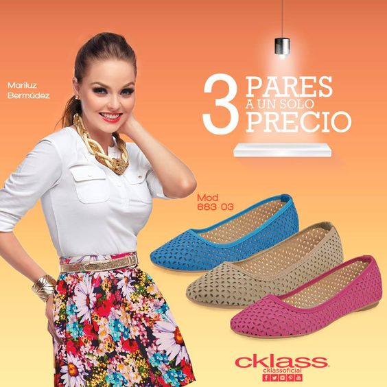 Conoce el six pack de #Cklass ¡3 pares a 1 solo precio! Con colores básicos para el verano, que te harán lucir sencilla y a la moda, son perfectas para usar todo los días. www.cklass.com