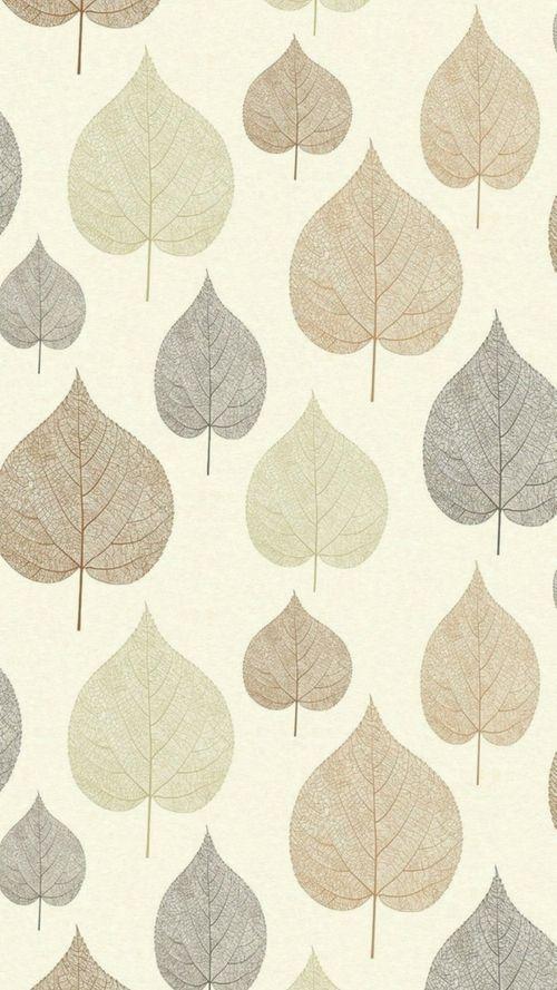 Crown Signature Leaf Wallpaper Russet Leaf Wallpaper Wallpaper Love Wallpaper