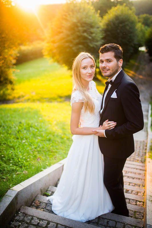 Zdjęcia ślubne w Ostromecku koło Bydgoszczy