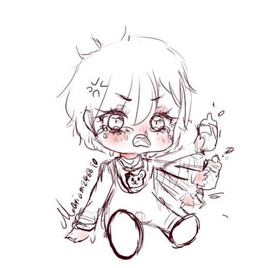 Doodle خرابيش احاول ارسم اطفال Aillis Anime Draw Drawing Like4like Paint Painting Follow Painter Kawaiianime Kawaii Kawaii Anime Chibi