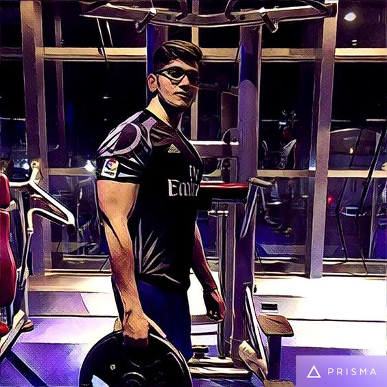 I'm all about doing things differently. #prisma #gym #bodybuilding #workout #mumbai #pumped #gymlife #comingbackstronger