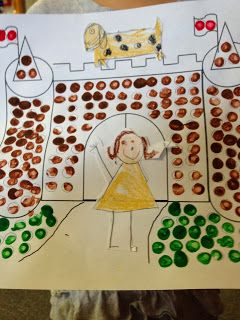 Tales From a K-1 Classroom  this K teacher combined this fine motor with writing...paint the setting, draw, cut out character prior to writing