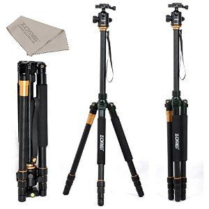 ZOMEi Z668 SLR Tripod with Ball Head for SLR Camera