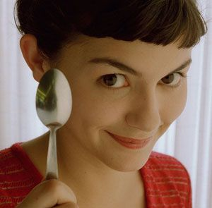 Eating on your days off, the Mediterranean Diet. Amelie stays thin AND works at a bistro