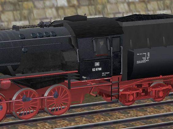 Dampflokomotive DB 52-5769. Bis #EEP6 http://bit.ly/Dampflokomotive-DB52-5769