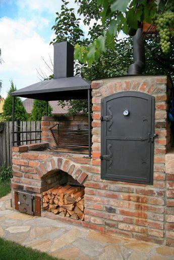 Wie Herrlich Das Ist Pizzaofen Garten Feuerstelle Garten Hinterhof Designs