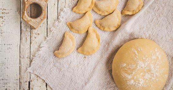 عجينة سمبوسة البيت Recipe Samosa Dough Cooking Recipes