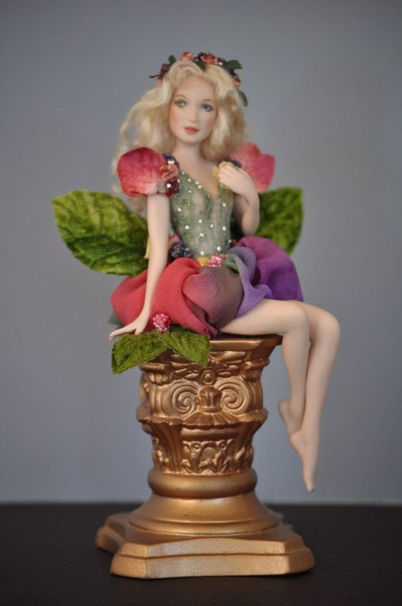 "Sharon Crain Beautiful Porcelain Fairy ""Chloe"""