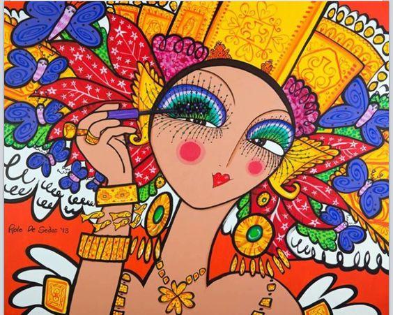Panamenian paintor