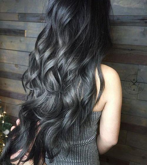 Photo Tumblr Hair Styles Charcoal Hair Hair Colorist