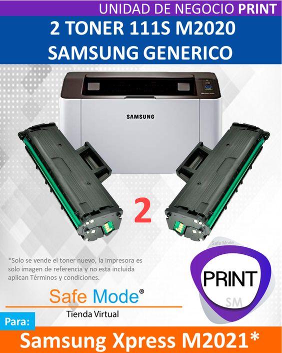 2 Toner para Samsung Xpress M2021  [Nuevo]