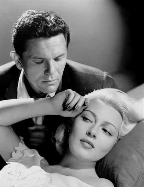 John Garfield and Lana Turner in The Postman Always Rings Twice (1946)