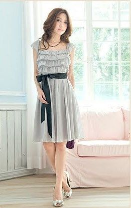 Grey Dress: Mother Of The Bride, Fashion Ideas, Feeling Grey, Bow Pretty, Grey Dresses, Style Fashion, My Style
