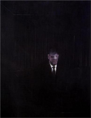 1954 MAN IN BLUE-III Francis Bacon (1909~1992)