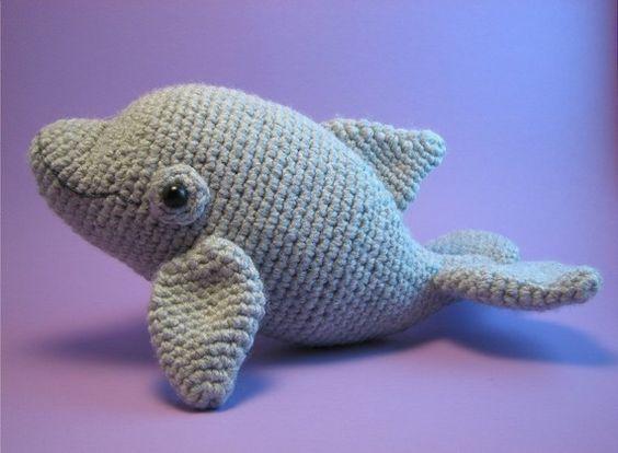 Etsyの Dolphin PDF amigurumi crochet pattern by edafedd