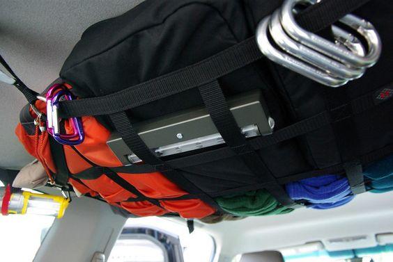 raingler | Raingler Cargo Net to store off road gear - Second Generation Nissan ...