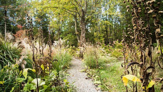 "James Golden, paisajista y escritor Americano. Un artículo en el New York Times. ""Federal Twist, a garden in New Jersey, serves no purpose — except an emotional one. The best kind of garden is a useless garden."