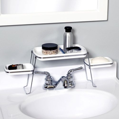 $14.97 Over-the-faucet shelves