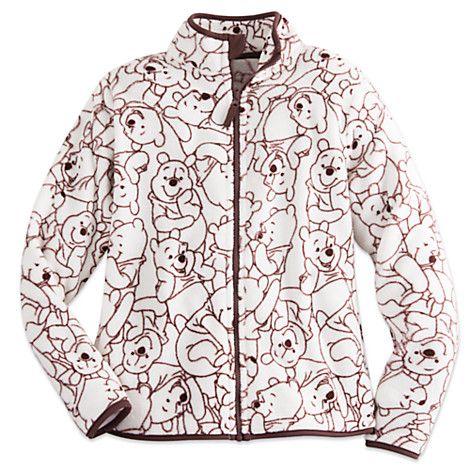 Winnie the Pooh Fleece Jacket for Women | Disney Store