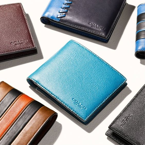 Wallets that are right on the money. #CoachHoliday