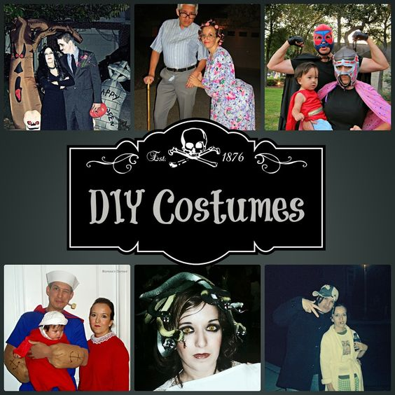 Looking for costume ideas? Here is a list of tutorials.