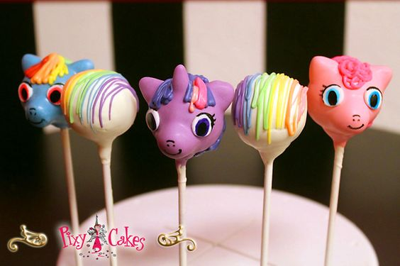 Image result for my little pony caKe pops: