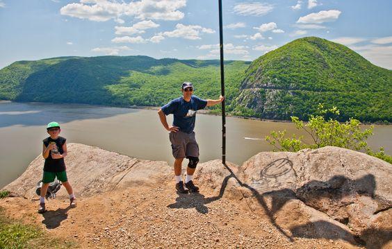 Ron and Aidan on Breakneck Mountain